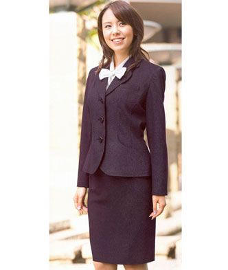 物业办公系列正装女西服